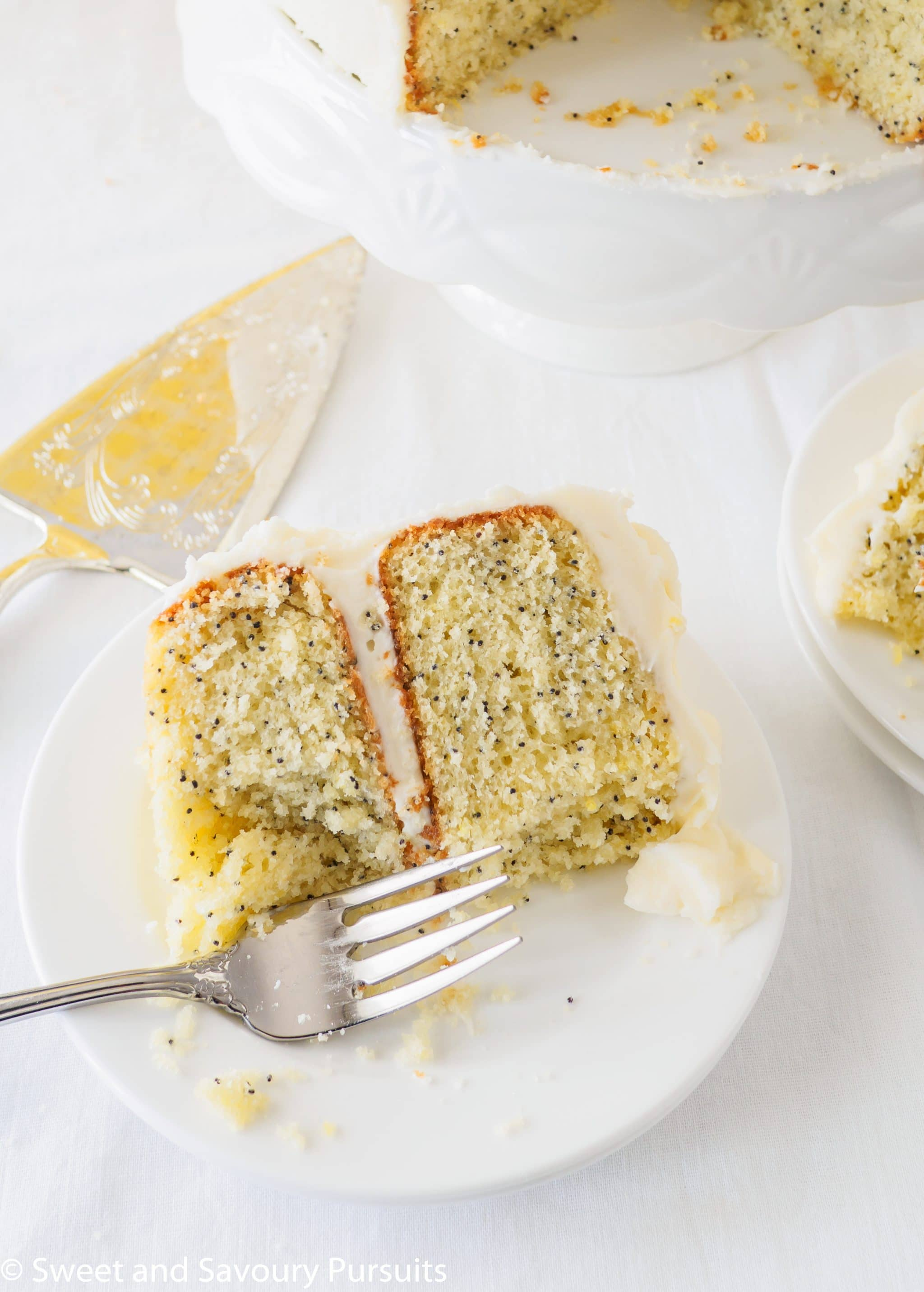 Lemon Poppy Seed Cake with Cream Cheese Frosting – Sweet ...