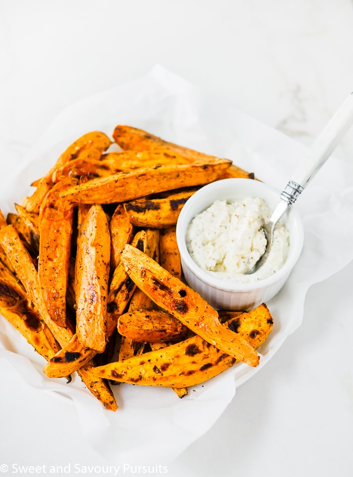 Baked Sweet Potatoes with Feta