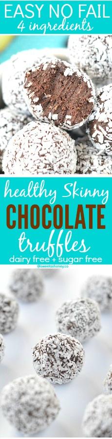 Healthy Chocolate Truffles with Avocado