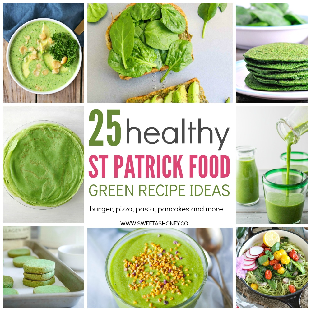 Healthy green recipes ideas for st patrick day