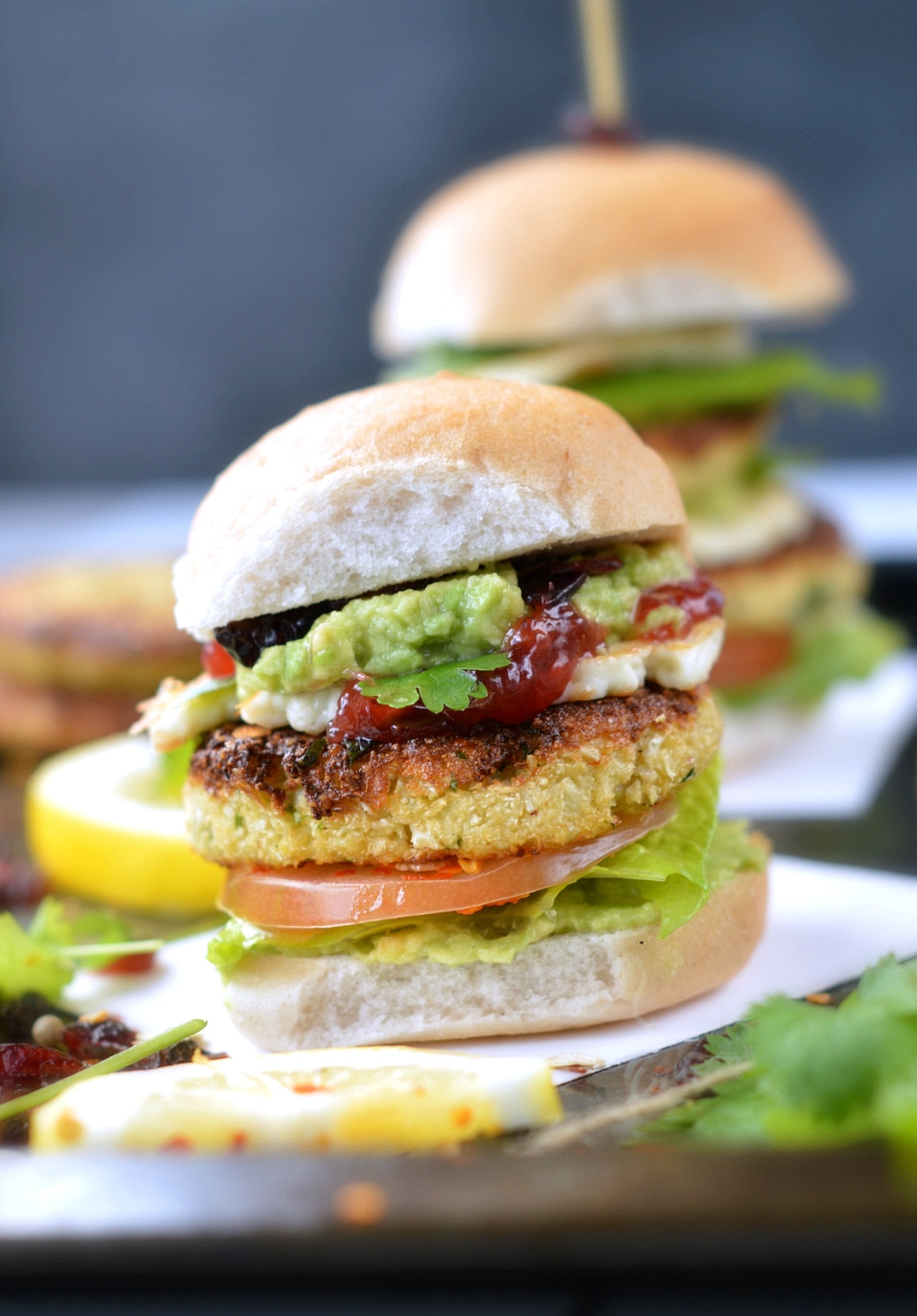 vegetarian sliders