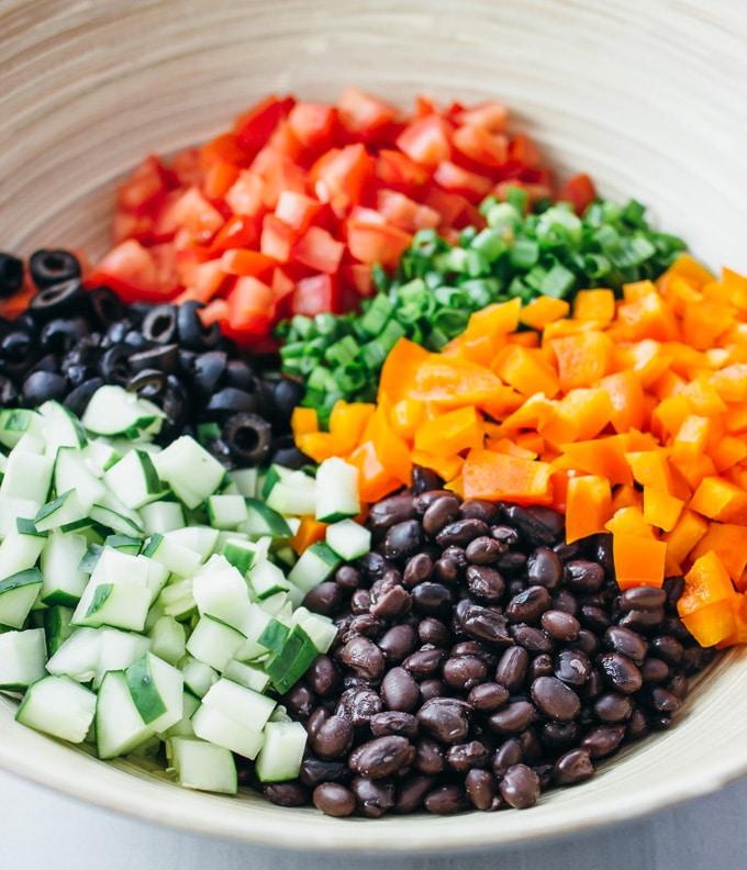 black-bean-salad-ingredients