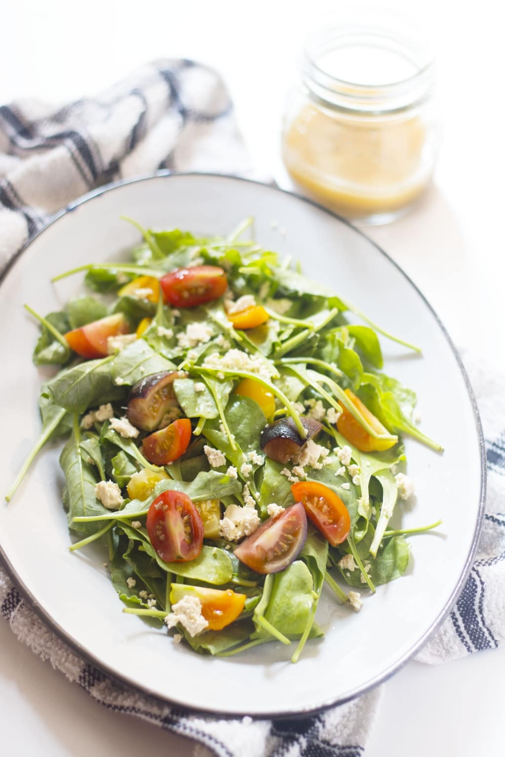 Spinach & Tofu Salad