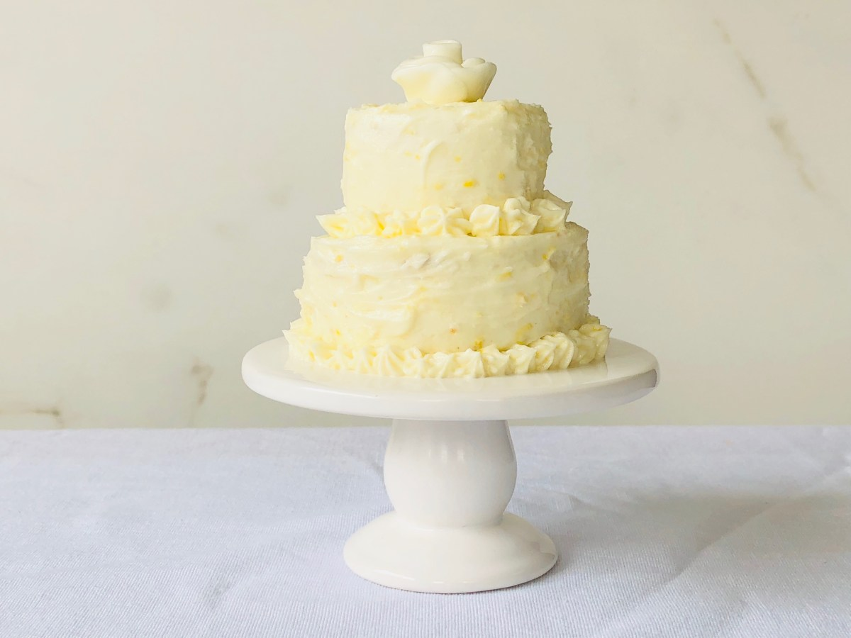 MINI LEMON WEDDING CAKE – Sweet Baking Adventures