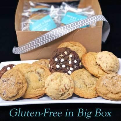 Sweet Bee Bakeshop Gluten-Free Baked Cookies in Big Box