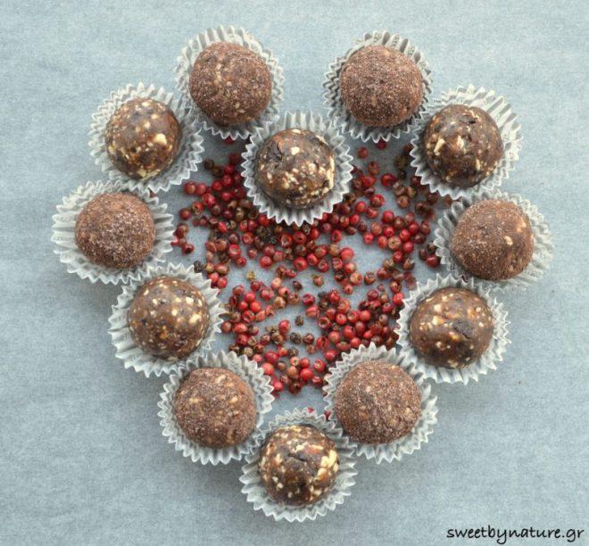 Σοκολατάκια με Ροζ Πιπέρι_1