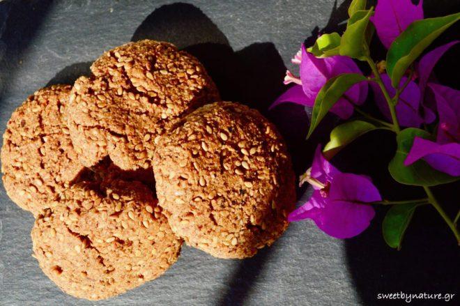 Μπισκότα με ταχίνι & μέλι_4