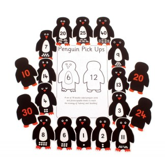 Penguins, pack of 18