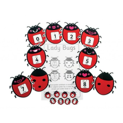 Lady Bugs, pack of 12
