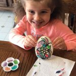 Paint-it-Yourself Easter Egg Cookie