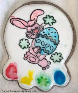 Paint-it-Yourself Easter Cookie