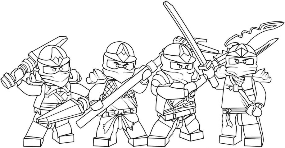 Ninjago Coloring Samurai X Page