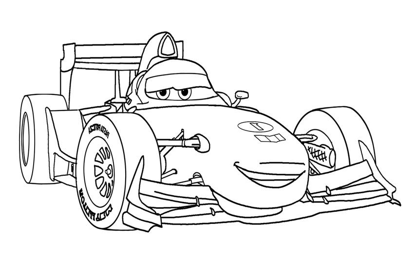 Coloriage Cars et Cars 2 (et dessins de Flash Mc Queen
