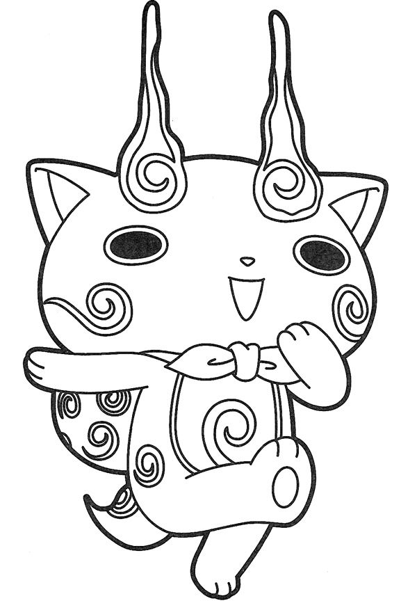 Robonyan Coloring Pages