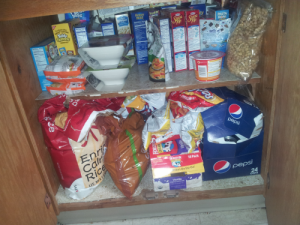kitchen snack before