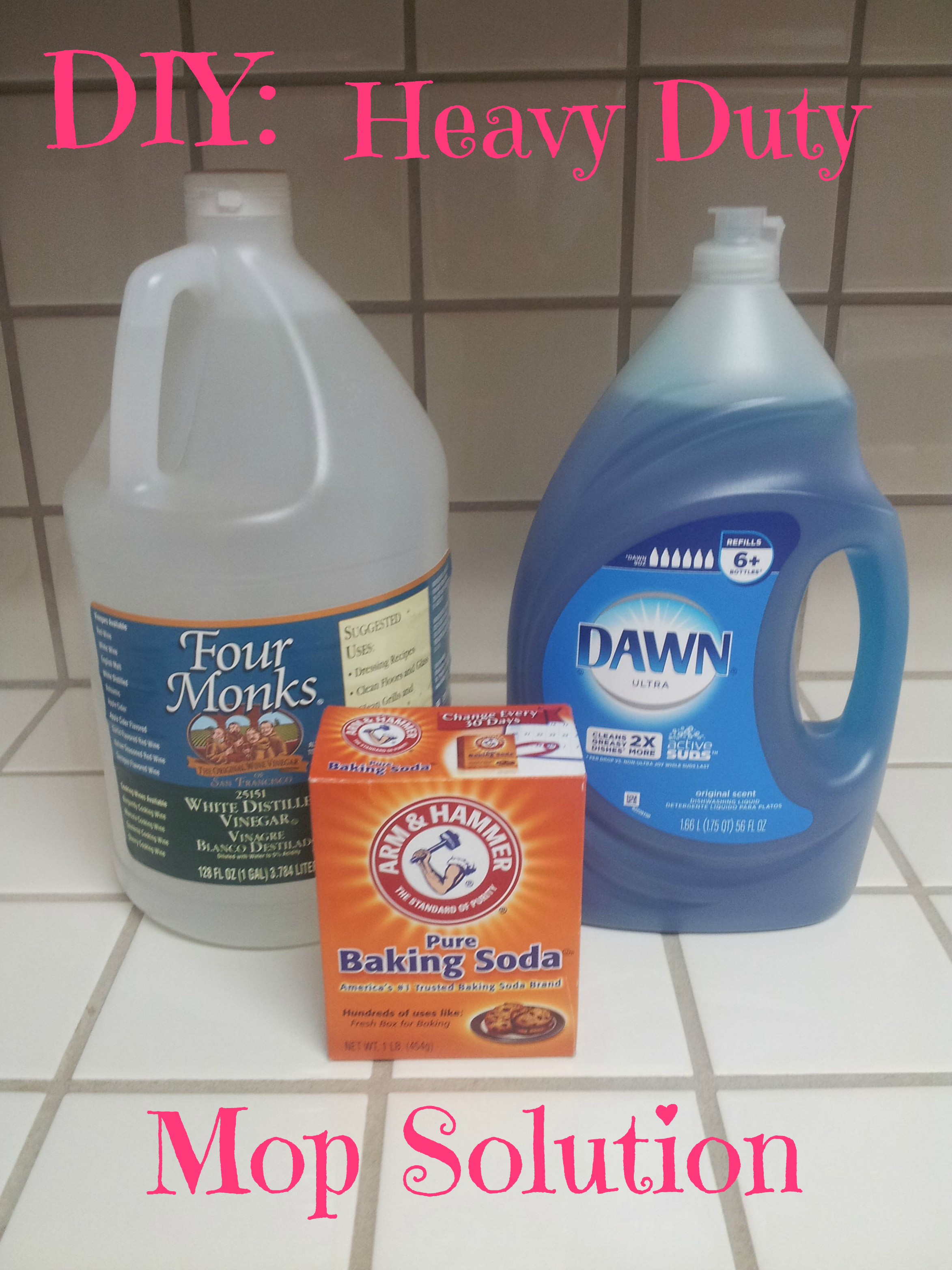 Diy Heavy Duty Mop Solution Sweet Deals 4 Moms