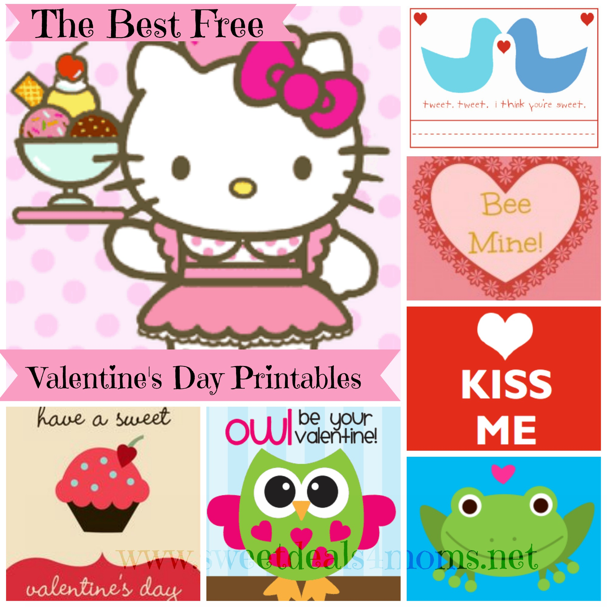 free printable valentines day card roundup sweet deals 4 moms