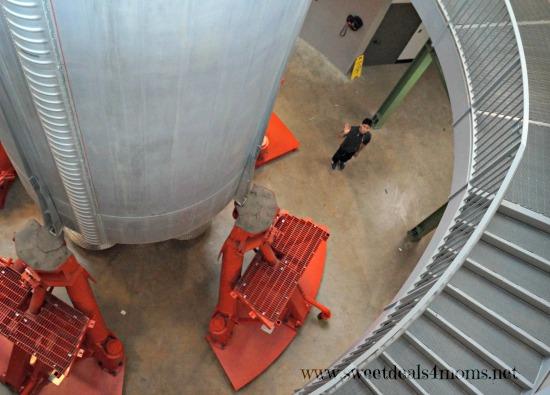 space museum rocket bottom