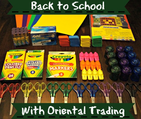 Back to School Supply Shopping with Oriental Trading Co.