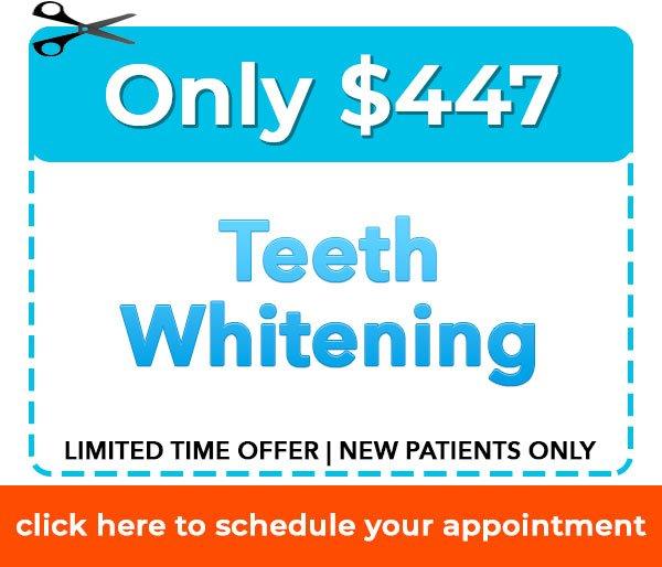 New Patient Teeth Whitening Offer Dentist Danbury, CT