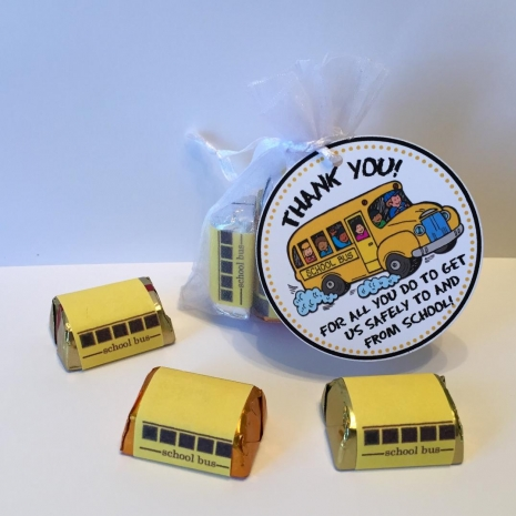 School Bus Driver Thank You Tags Bus Driver Appreciation