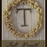 Fall Wreath in 15 Minutes
