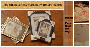You can never have too many frames!