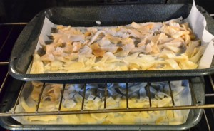 Drying Oyster Mushrooms