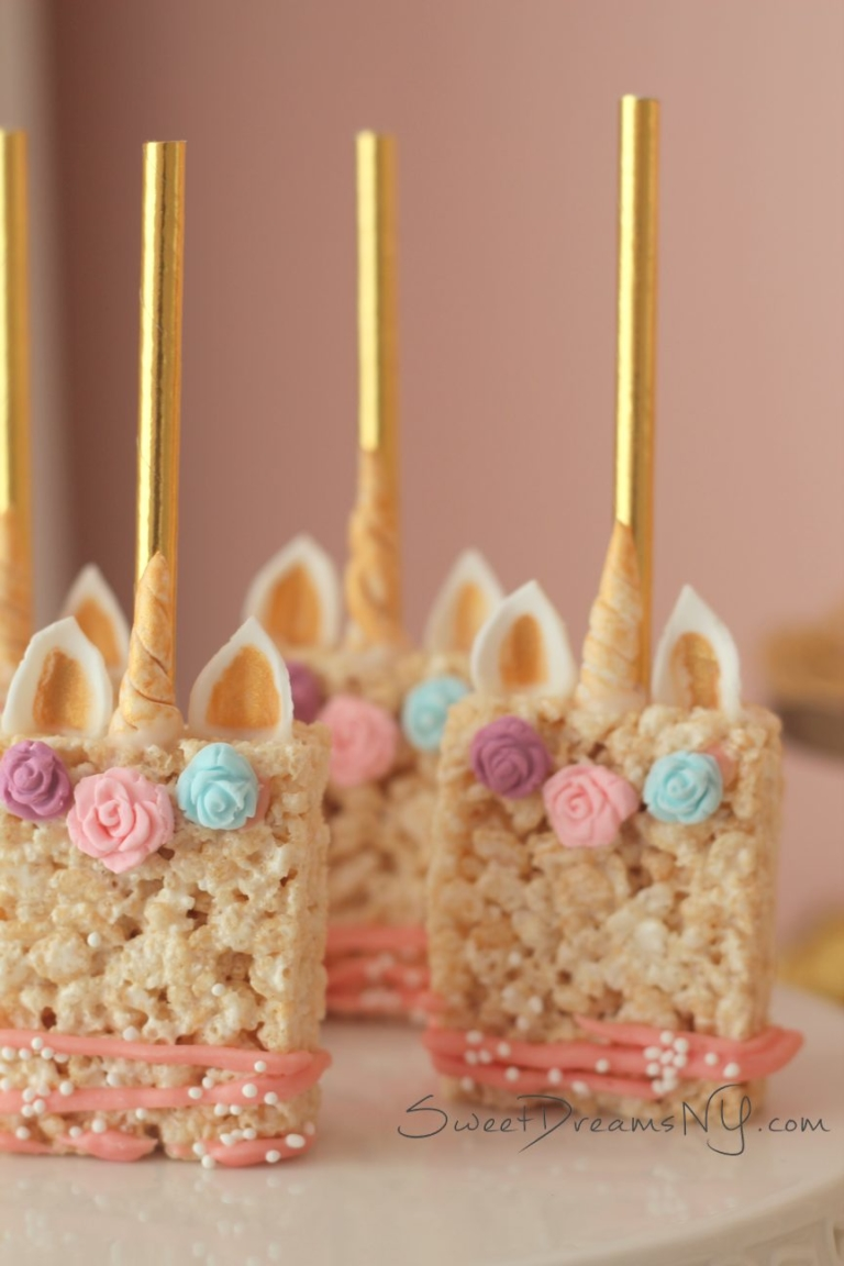 Unicorn Dessert Table  Sweet Dreams by Lori Baker