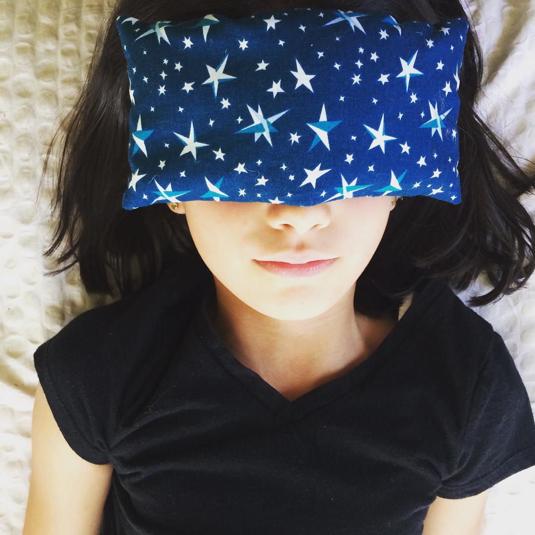 Eye pillow aromatheraphy