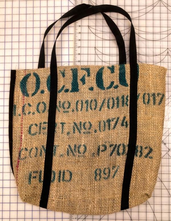 Coffe Burlap Bag