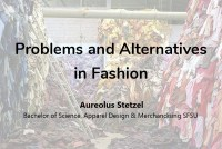 Problems and Alternatives in Fashion