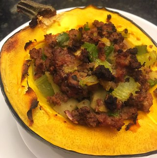 AIP Stuffed Acorn Squash