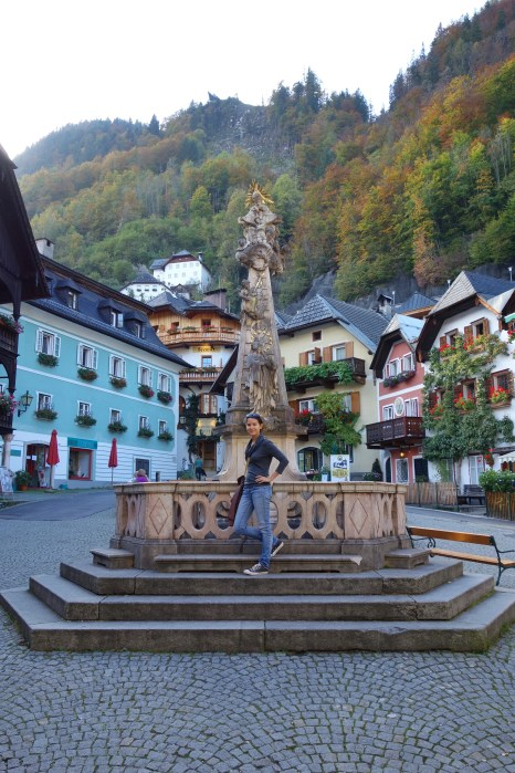Main square, Hallstatt