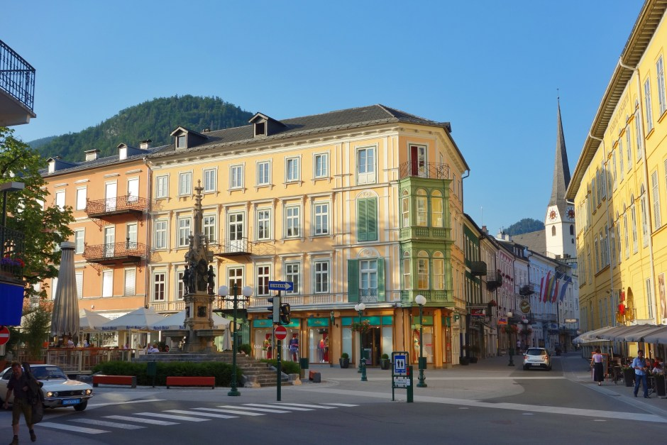 The centre of Bad Ischl