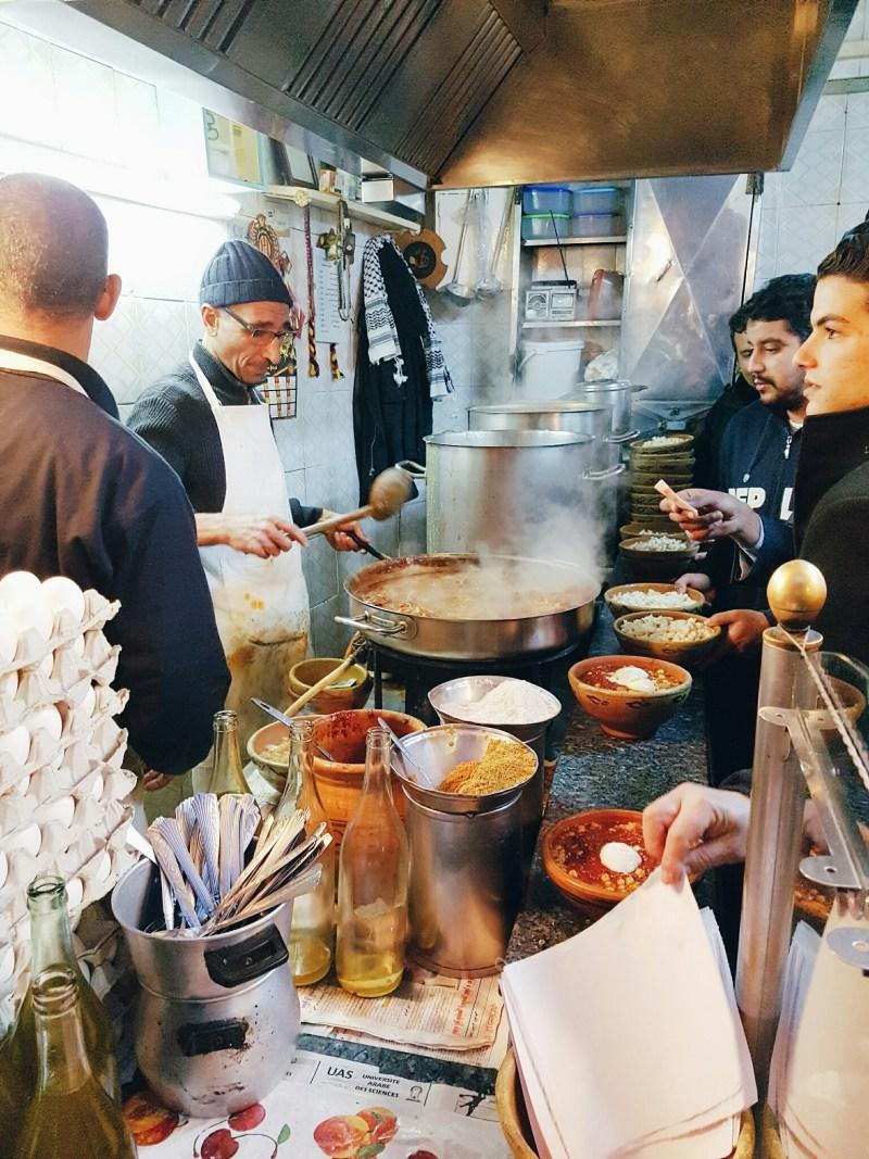 Tunis street food