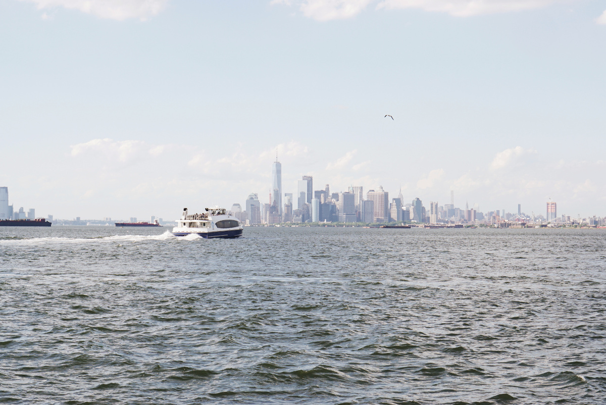 Exploring NYC by ferry