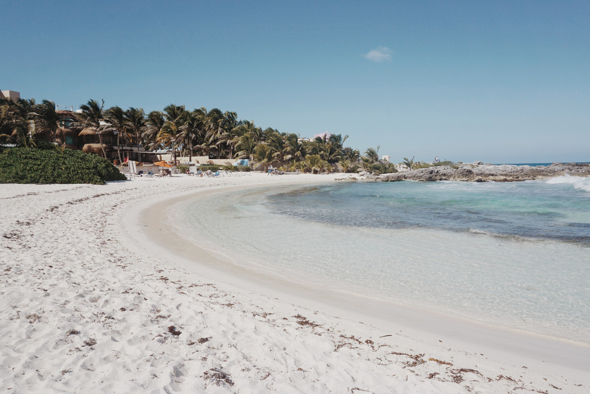 Beach hopping and snorkeling in the Riviera Maya