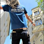Iron Heart forum T-shirt post day