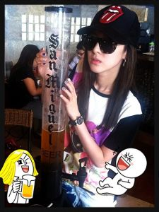 things to do -- drink Dara's San Miguel