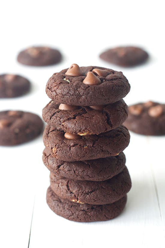 Perfect Peppermint Chocolate Cookies