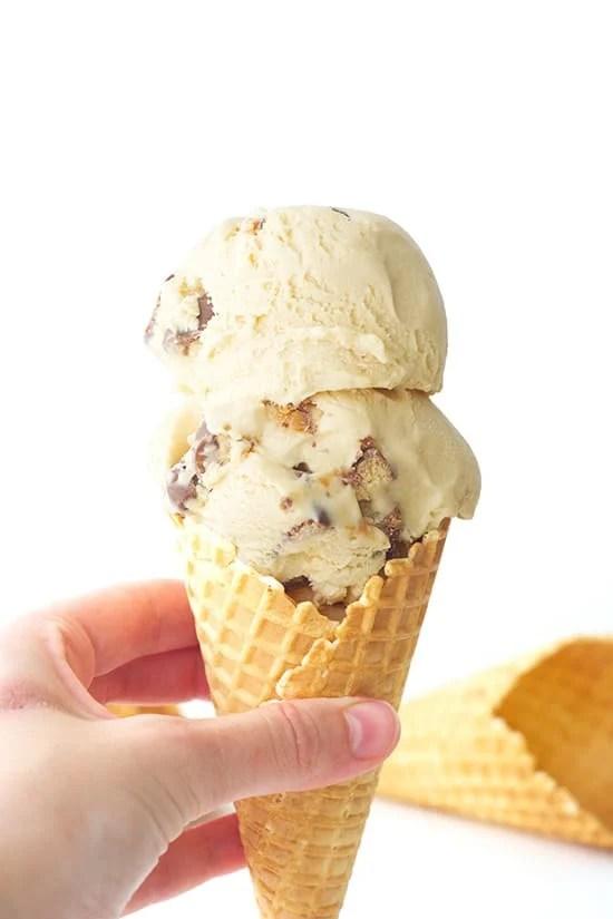 Salted Caramel Twix Ice Cream