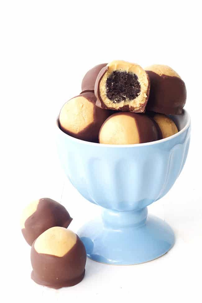 Peanut Butter Oreo Buckeyes