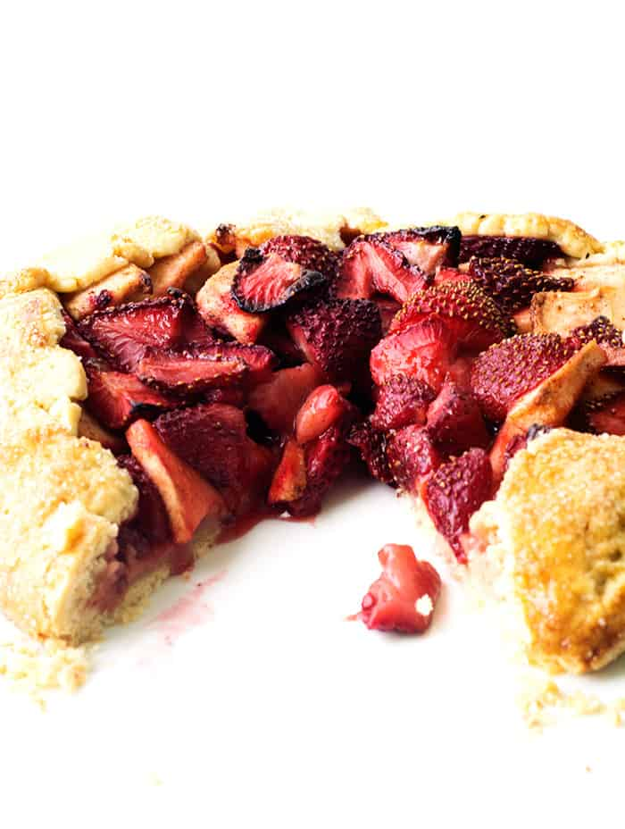 Strawberry Apple Galette