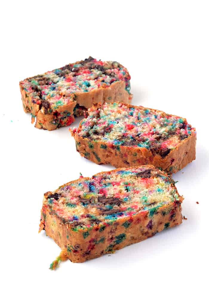 Amazing Funfetti Ice Cream Bread