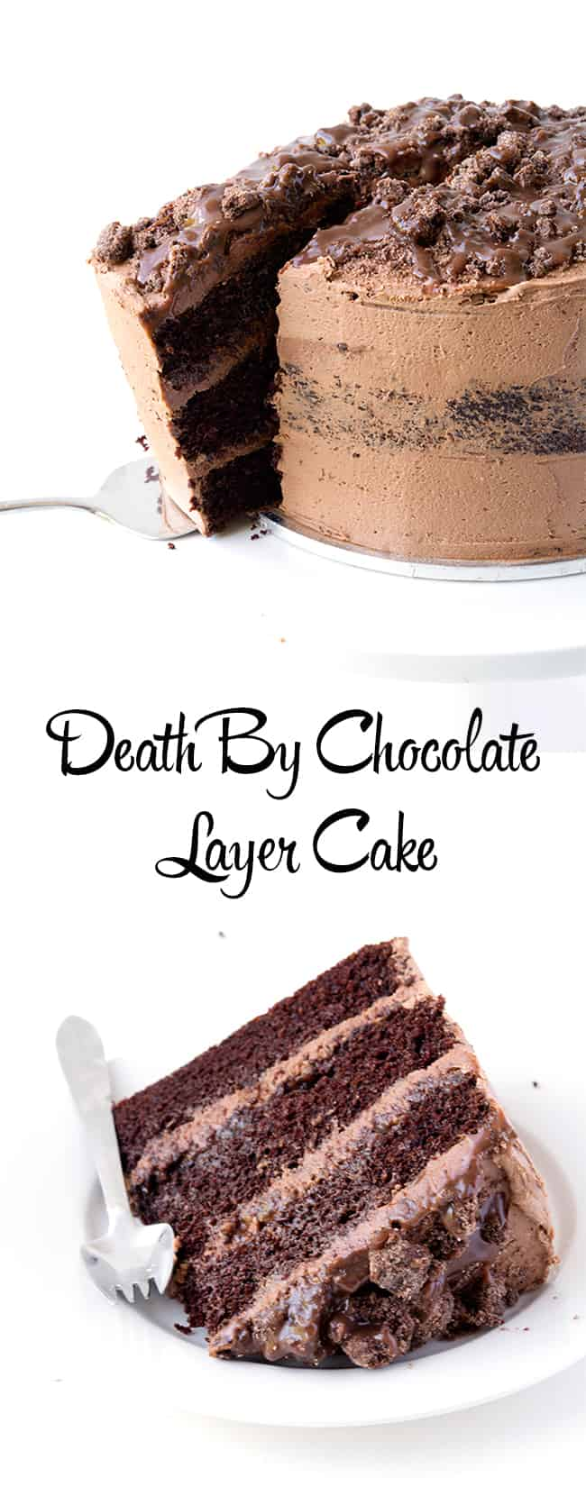 Death By Chocolate Layer Cake | sweetest menu