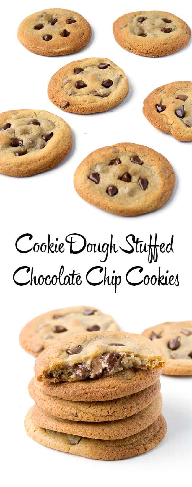 Cookie Dough Stuffed Cookies | sweetest menu