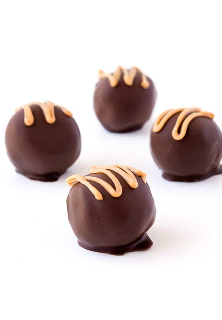 Peanut Butter Cookie Dough Balls | Sweetest Menu