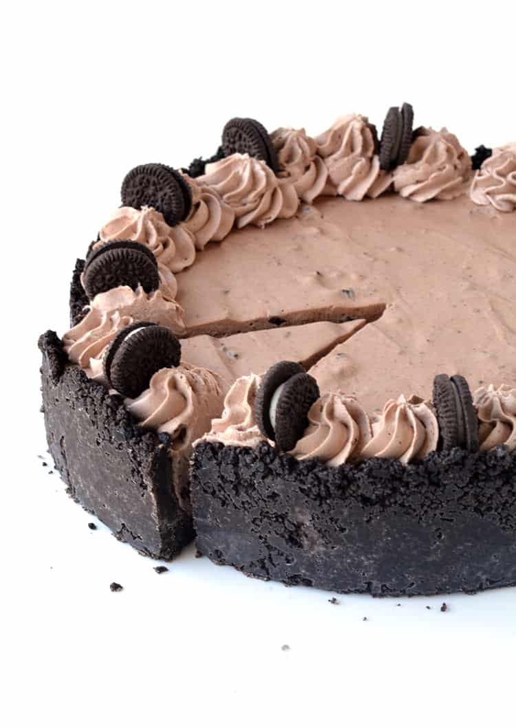 Chocolate Oreo Ice Cream Pie