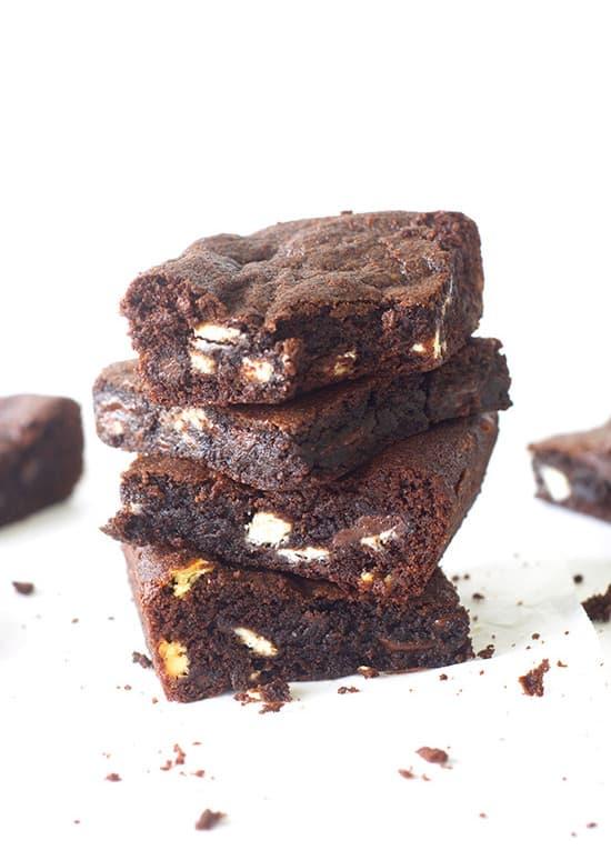 Triple Chocolate Chunk Cookie Bars - Sweetest Menu
